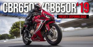 HONDA Anuncia o Preço e Disponibilidade dos Novos Modelos Série 650 de 2019 thumbnail