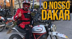 "Ducati Lisboa no ""Nosso Dakar"" de Desert Sled thumbnail"