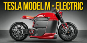 TESLA Model M – Electric Motorcycle Concept thumbnail
