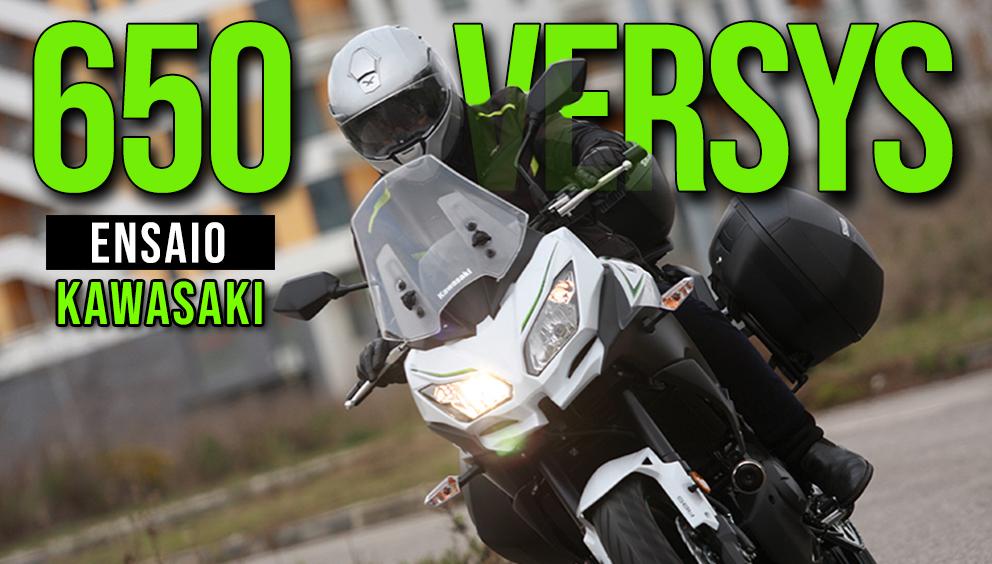 Kawasaki Versys 650 Mais Genuína Motomais