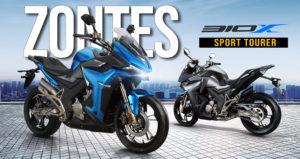 ZONTES 310 X – Uma Sport Tourer de design moderno e uma excelente relação preço-qualidade thumbnail