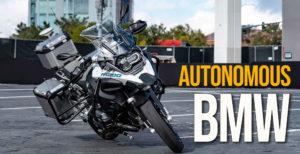 Protótipo de condução autónoma da BMW Motorrad apresentado em Las Vegas thumbnail