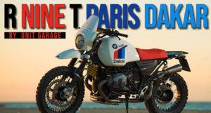 """BMW R Nine T – Uma Preparação """"Paris Dakar"""" da Unit Garage thumbnail"""