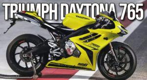 Nova Triumph Daytona 765 para 2020 ? thumbnail