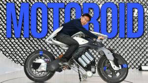 YAMAHA MOTOROiD –homenageado em todas as três principais competições globais de design. thumbnail