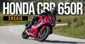 ENSAIO HONDA CBR 650R – Uma Desportiva com R de Racional thumbnail