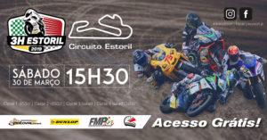 Amanhã Sábado 30 de Março às 15.30 arrancam as 3 Horas Do Estoril – Resistência Motociclismo thumbnail
