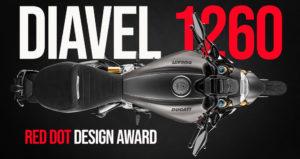 """A nova Diavel 1260 recebe o prestigiado """"Red Dot Design Award 2019"""" pelo seu estilo inconfundível thumbnail"""