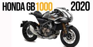 Honda GB 1000 TT – Uma Tourist Trophy com motor da Africa Twin para 2020 ? thumbnail