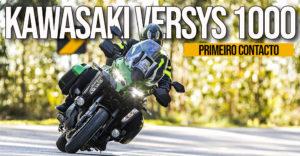 Ontem foram 320 Kms de puro prazer e aventura com a nova Kawasaki Versys 1000 thumbnail