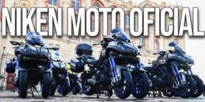A Yamaha NIKEN é a moto de apoio oficial em três das mais famosas provas de ciclismo a nível mundial. thumbnail