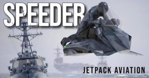 SPEEDER – Moto Voadora da Jetpack Aviation thumbnail