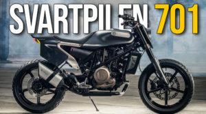 "A Husqvarna Svartpilen 701 já está disponível – Um novo modelo na gama ""Real Street"" thumbnail"