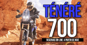 O sistema de encomendas online da Ténéré 700 já está disponível thumbnail