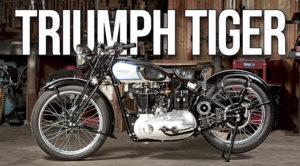 Triumph Tiger – Desde a sua origem em 1937 thumbnail