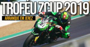 As Kawasaki Z900 de novo em foco no arranque do Troféu ZCUP 2019 em Jerez thumbnail