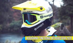 Husqvarna 2020 Functional OffRoad Gear – Nova Coleção de Equipamento e Proteções thumbnail
