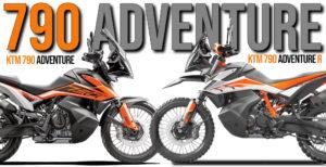 Quais as diferenças entre a KTM 790 Adventure e a 790 Adventure R thumbnail