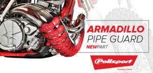 ARMADILLO – Proteção Universal da Polisport para Escapes de motos a 2 Tempos thumbnail
