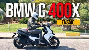 Ensaio BMW C 400 X – Qualidade explosiva em mobilidade urbana thumbnail