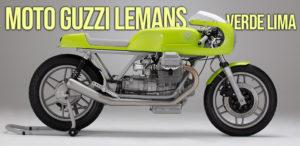 Moto Guzzi Le Mans Verde Lima thumbnail