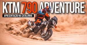 Apresentação das KTM 790 Adventure e 790 Adventure R na Catalunha thumbnail