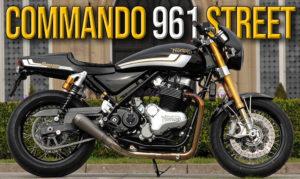 NORTON COMMANDO 961 STREET – Edição Especial Limitada a 50 Unidades thumbnail