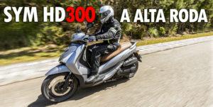 Ensaio: SYM HD300, scooter da alta roda thumbnail