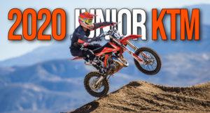 Gama KTM SX de Motocross a 2 tempos para o Segmento Junior thumbnail