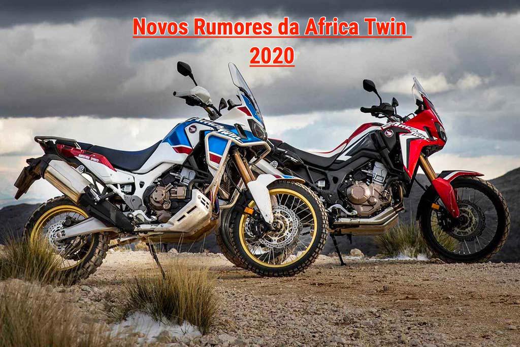 Mais Detalhes Dos Rumores Da Africa Twin 1100 De 2020 Motomais