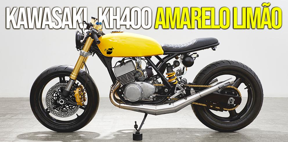 Kawasaki 400 Amarelo Limão Motomais