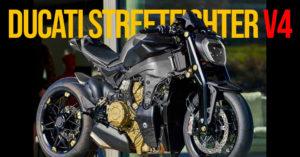 A nova Ducati Streetfighter V4 já roda em circuito thumbnail