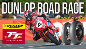 Dunlop com novo pneu de Road Race na Isle of Man thumbnail