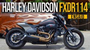 Ensaio Harley-Davidson FXDR 114 de 2019 – Power Cruiser Americana thumbnail