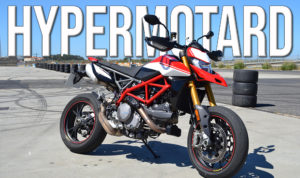 Ducati Hypermotard 950 SP em testes no Autódromo do Estoril thumbnail