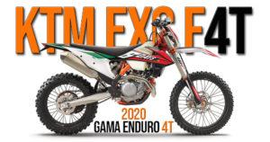 Novas KTM de Enduro EXC-F 2020 a 4 tempos – Evolução ao pormenor thumbnail