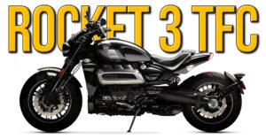"A Triumph acaba de revelar todos os detalhes da sua nova ""muscle bike"" Rocket 3 TFC thumbnail"