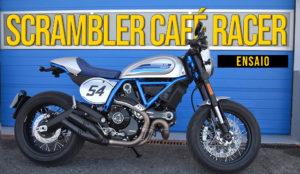 """Ensaio Scrambler Ducati Café Racer 2019 – Digna herdeira do estilo """"Café Racer"""" thumbnail"""