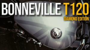 Triumph Bonneville T120 Diamond Edition – Edição Especial a celebrar os 60 anos da Bonneville thumbnail