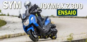 Ensaio: SYM Joymax Z300, a irmã maior thumbnail