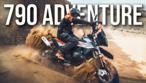 Vídeo sobre a apresentação da KTM 790 Adventure e 790 Adventure R thumbnail