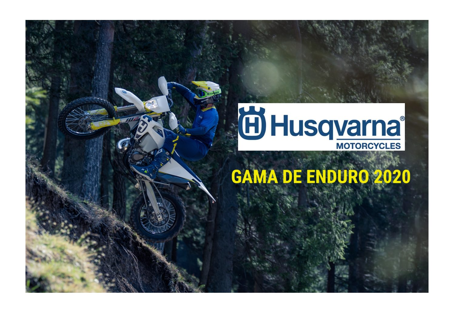 Husqvarna – Apresenta a nova gama Enduro 2020 thumbnail
