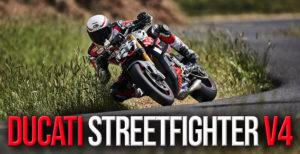 A nova Ducati Streetfighter V4 preparada para a prova Pikes Peak thumbnail