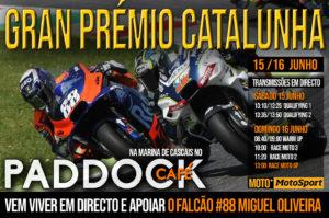 Grande Prémio da Catalunha de MotoGP com transmissão em directo no Paddock Café thumbnail