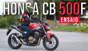 "Ensaio Honda CB 500F – Polivalência em estilo ""street fighter"" thumbnail"