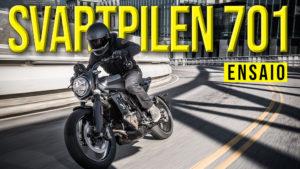 "Husqvarna Svartpilen 701 – Uma Flat Tracker para ""duros"" thumbnail"