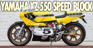 Yamaha XZ550 Speed Block thumbnail