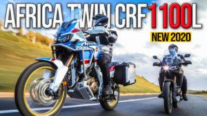 Honda Africa Twin CRF1100L – Aumento de cilindrada e potência para 2020 thumbnail