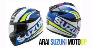 Novo Capacete ARAI com as cores da Suzuki ECSTAR de MotoGP thumbnail