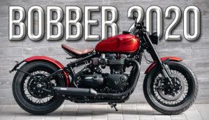 Nova Triumph Bobber 2020 – Componentes de topo e estilo Café Racer thumbnail